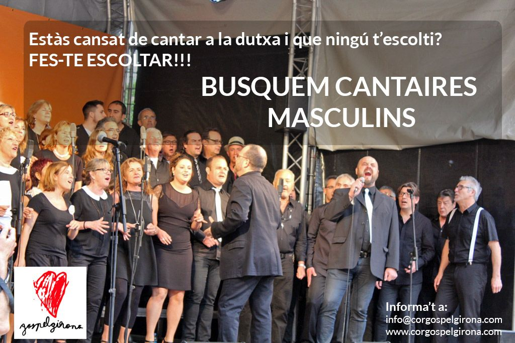 Busquem Cantaires Masculins