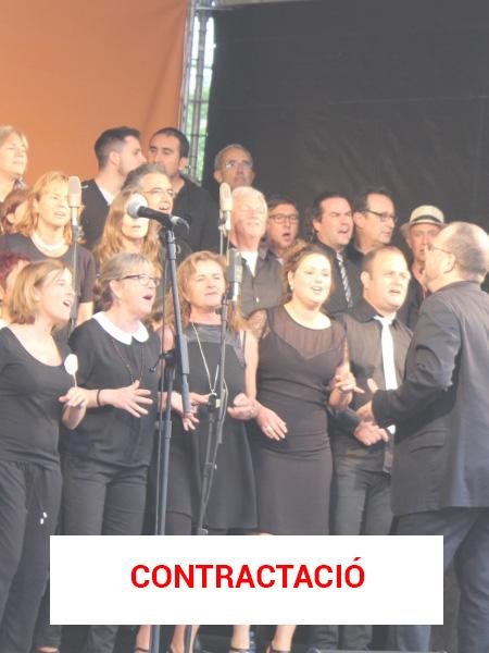 Contractació Cor Gospel Girona