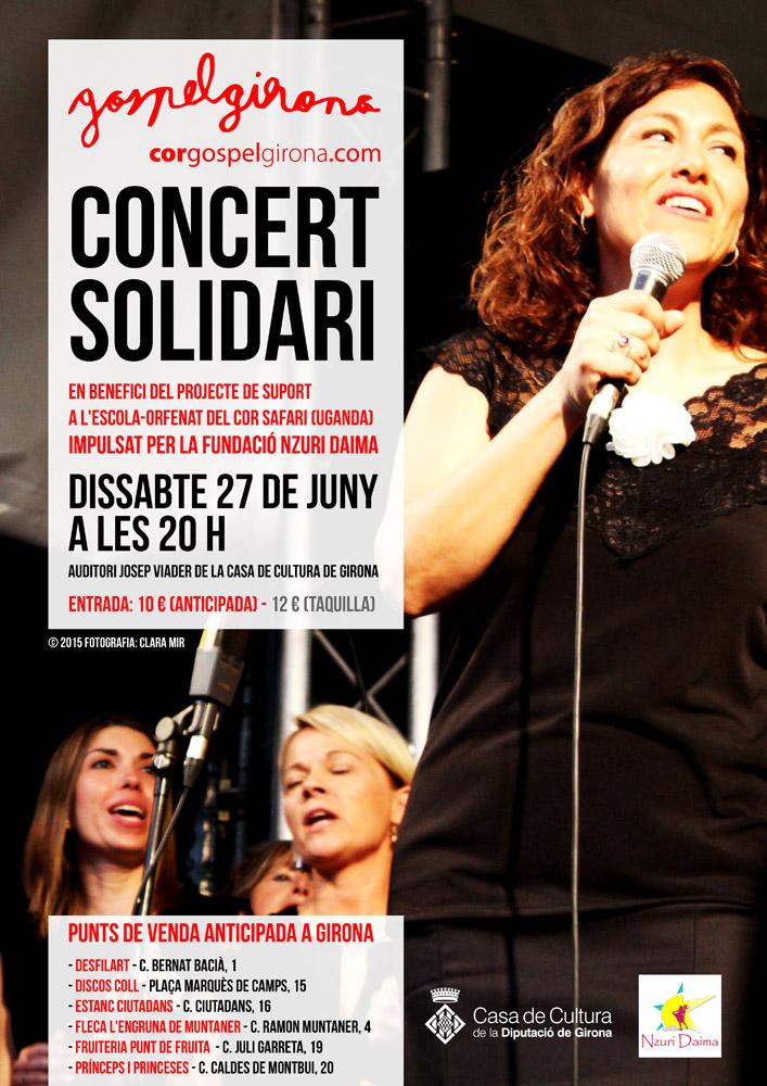 Dissabte 27 De Juny: Concert Solidari A Girona