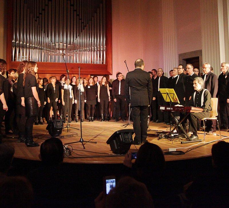 Girona. Casa De Cultura (Auditori Viader). Concert Solidari De Reis Del Cor Gospel Girona.
