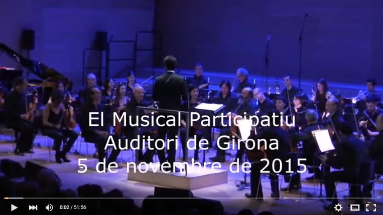 El Musical Participatiu Girona 2015