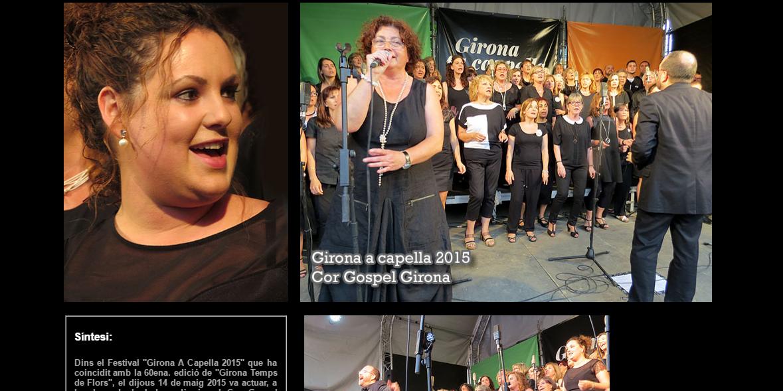 Reportatge Fotogràfic Del Concert Al Festival Girona A Cappella