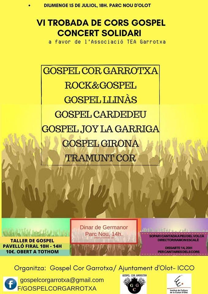 VI Trobada De Cors Gospel A Olot