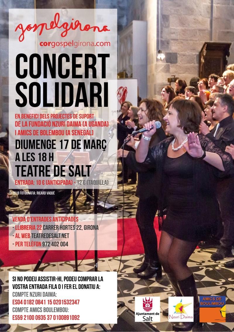 Concert Solidari Per A Nzuri Daima I Amics De Boulembou, El 17 De Març De 2019, Al Teatre De Salt