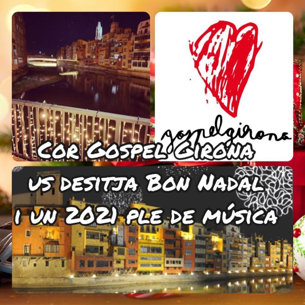 Cor Gospel Us Desitja Un Bon Nadal I Un 2021 Ple De Música